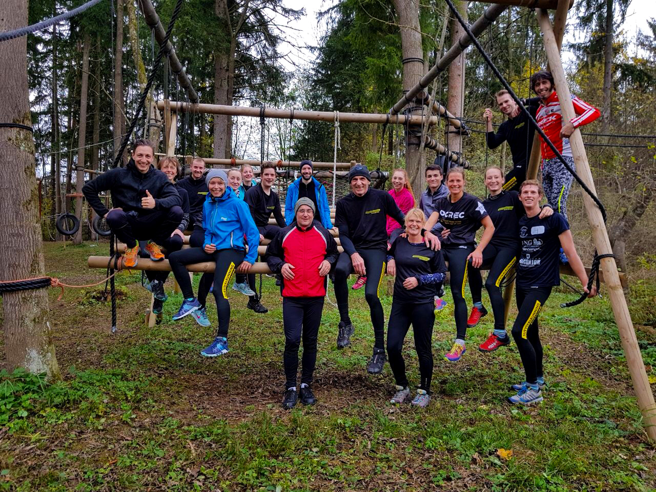 trainingsgruppe hindernislauf